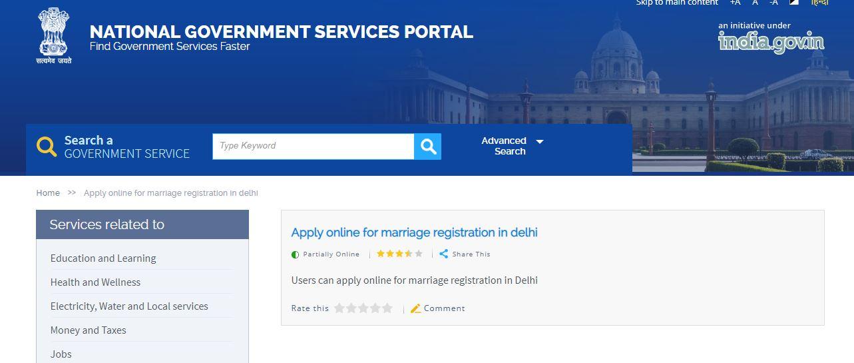 marriage certificate in delhi | marriage registration in delhi